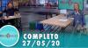Tricotando (27/05/2020) | Completo