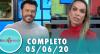 Tricotando (05/06/2020) | Completo