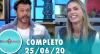 Tricotando (25/06/2020) | Completo