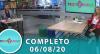 Tricotando (06/08/2020) | Completo