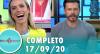 Tricotando (17/09/2020) | Completo
