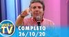 Você na TV (26/10/20) | Completo