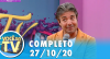 Você na TV (27/10/20) | Completo