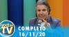 Você na TV (16/11/20) | Completo