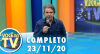Você na TV (23/11/20) | Completo