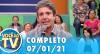 Você na TV (07/01/21) | Completo
