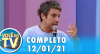 Você na TV (12/01/21) | Completo