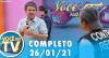 Você na TV (26/01/21) | Completo