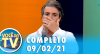 Você na TV (09/02/21) | Completo