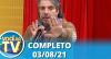 Você na TV (03/08/21) | Completo