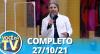 Você na TV (27/10/21) | Completo
