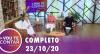 Vou Te Contar (23/10/2020) | Completo