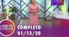 Vou Te Contar (01/12/2020) | Completo