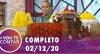 Vou Te Contar (02/12/2020) | Completo