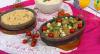 Receita fácil de lombo grelhado ao molho de maracujá com arroz e farofa