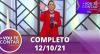 Vou Te Contar (12/10/2021) | Completo