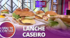 Aprenda a fazer um X-TUDO com pão e hambúrguer feito em casa: veja receita!