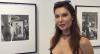 Júlia Pereira visita exposição do fotógrafo Helmut Newton em Nova York