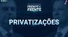 Bolsonaro e Haddad - Privatizações