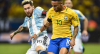 Brasil sem Neymar é pior que Argentina sem Messi?