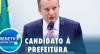 Com máscara do Brasil, Celso Russomanno vota em colégio de São Paulo