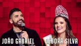 Marcelo de Carvalho recebe João Gabriel e Débora Silva