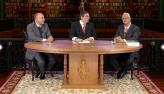 Professor Eduardo Vera-Cruz e desembargador Marco Antonio Marques da Silva