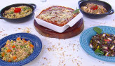 Edu Guedes ensina a preparar várias receitas com arroz