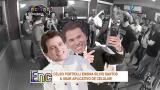 Celso Portiolli ensina Silvio Santos a usar aplicativo de celular