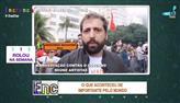 Manifestação contra o governo reúne artistas no RJ