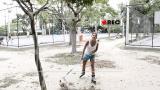 Yanna Lavigne anda de patins em �tima companhia