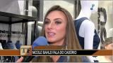 Nicole Bahls fala sobre casamento e quer presen�a de Padre F�bio de Melo