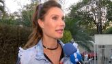 Júlia Pereira é destaque em desfile de moda em Miami