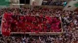 Milhares de pessoas comemoram os 70 anos da Tomatina, na Espanha