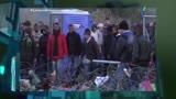 Refugiados tentam derrubar cerca na fronteira entre Gr�cia e Maced�nia