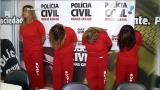 Pol�cia prende quatro envolvidos em assassinato de gr�vida em MG