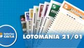 Resultado da Lotomania - Concurso nº 2041 - 21/01/2020