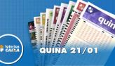 Resultado da Quina - Concurso nº 5176 - 21/01/2020