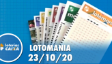 Resultado da Lotomania - Concurso nº 2120 - 23/10/2020