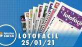 Resultado da Lotofácil - Concurso nº 2141 - 25/01/2021