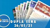 Resultado da Dupla Sena - Concurso nº 2188 - 26/01/2021