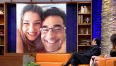 Luciano Szafir lamenta distância da filha, Sasha: