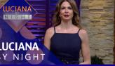 Alexandre Mortágua e Solange Gomes são os convidados do Luciana by Night