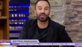 Diogo Portugal celebra boa fase da carreira no Luciana By Night