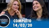 Mariana Godoy conversa com Rita Guedes e Bruna Louise (14/02/20)
