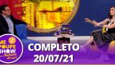 Jornalista Fernando Rocha no Me Poupe! Show (20/07/21)   Completo
