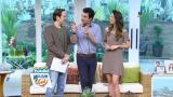 Zuca, Edu e Mari revelam os destaques do programa
