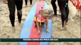 Praia nos EUA permite uma verdadeira 'invas�o canina'