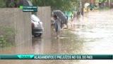 Chuva causa preju�zos no Sul do pa�s