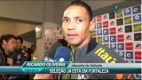 Jogadores brasileiros n�o escondem tristeza ap�s derrota para o Chile